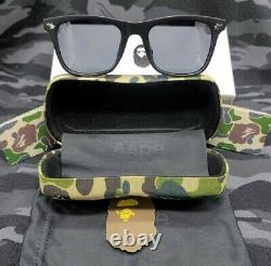 A Bathing Ape Camo Pattern Sunglasses Made By Human Brand New-fast Shipping