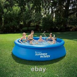 BRAND NEW Summer Waves 12ft x 30in Quick Set Pool with Filter Pump FAST SHIPPING