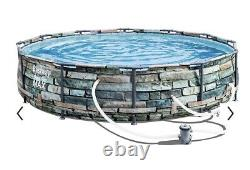 Bestway 12' X 30 Steel Pro Max Above Ground Pool with Pump 56817E SHIPS Fast