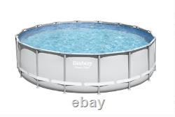 Bestway Power Steel 16' x 48 Swimming Pool with Pump, Ladder, Cover FAST SHIP