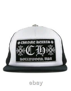 Chrome Hearts Trucker Hat (CH) Fast Shipping Looks Great