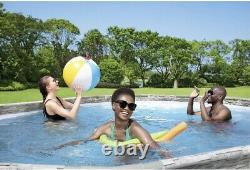 Coleman Power Steel 16x10x48 Oval Pool Set with FILTER/PUMP. SHIPS FREE/FAST