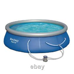 FAST FREE SHIP Bestway Fast Set Swimming Pool 13' x 33 with 530 GPH Filter Pump