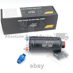 GENUINE AEM 400LPH Fuel Pump Kit 50-1005 E85 Compatible IN STOCK SHIPS FAST