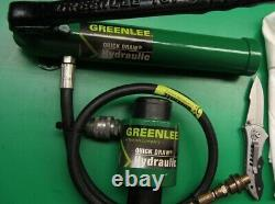 Greenlee 767 Hand Pump Hydraulic Driver & Ram, Free Set Of Bits, Fast Shipping