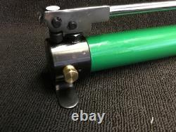 Greenlee 767 Hydraulic Style Hand Pump, With Hose, Preowned, L@@k, Fast Shipping