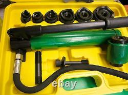 Greenlee Styli Knockout Case, Fit All Knockout, Pump, Brand New Fast Ship