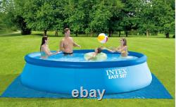 INTEX 15ft x 42in Easy Set Pool Set with pump, cover, ladder 15' x 42 SHIP FAST