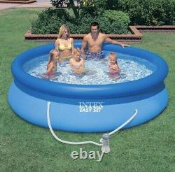Intex 10 X 30 Easy Set Above Ground Swimming Pool with FILTER PUMPFAST SHIP