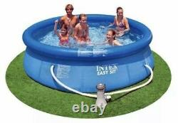 Intex 10 ft x 30 in Easy Set Pool With Filter Pump 330 GPH IN HAND SHIPS FAST