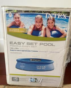 Intex 10 ft x 30 in Easy Set Swimming Pool Inflatable Kids NO PUMP FAST SHIP