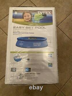 Intex 10 x 30 Quick Set Easy Above Ground Pool NEW With Filter Pump Ships FAST