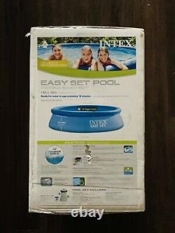 Intex 10ft x 30in Easy Set Inflatable Swimming Pool with Filter Pump SHIPS FAST