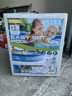 Intex 12' X 30 Easy Set Pool with Filter Pump 3.66m x 76 cm IN HAND FAST SHIP