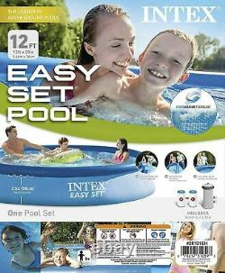 Intex 12 ft x 30 in Easy Set Above Ground Pool With Filter Pump FAST SHIP