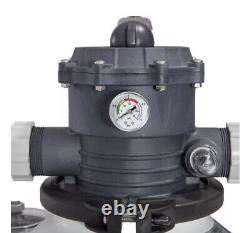 Intex 2100 GPH Sand Filter Pump With Automatic Timer Pool IN HAND FAST SHIPPING