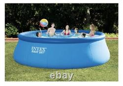 Intex 26167EH 15' x 48 Easy Set Swimming Pool with Ladder, Pump, Cover SHIPS FAST
