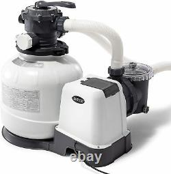 Intex 2800 GPH Pool Sand Filter Pump with Automatic Timer 26647EG FAST SHIP