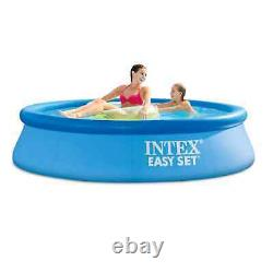 Intex 8'x24 Easy Set Round Inflatable Above Ground Pool Pump Filter FAST SHIP