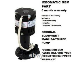 NEW OEM 9161076-01 ICE-O-MATIC Water Pump GPP-1MH-1P 916107601 SHIPS FAST