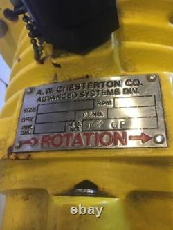 New A. W Chesterton Pump 6162 GP Stainless Impeller Warranty! Fast Shipping