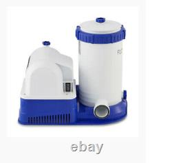 New Unused Bestway 58392E Flowclear 2,500 Pool Filter With Pump Fast Shipping
