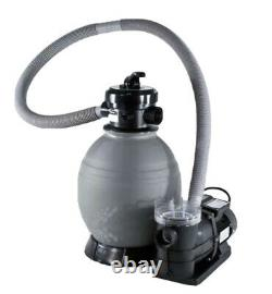 QuickShip Deluxe 18in Above Ground Sand Filter System with 1 HP Pump Fast Shipping