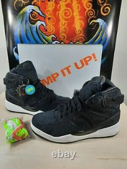Reebok The Pump Certified X SNS Blacklight Poster 25th Anniversary Ships FAST