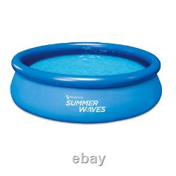 Summer Waves 10'x30 Quick Set Pool with Filter Pump Fast Priority Shipping