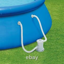 Summer Waves 10ft Quick Set Ring Pool with 600 GPH Filter Pump FAST SHIPPING