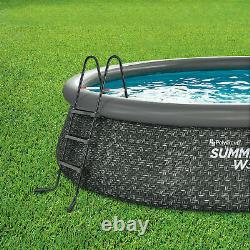 Summer Waves 14 x 36 Quick Set Pool with Pump Ladder FREE FAST SHIPPING