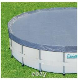 Summer Waves 14ft Elite Frame Pool with Cover, Pump, and Ladder- SHIPS FREE & FAST