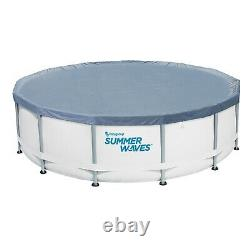 Summer Waves 14ft Elite Frame Pool with Cover, Pump, and Ladder SHIPS FREE & FAST