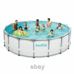 Summer Waves 14ft Elite Frame Pool with Filter Pump, Cover, and Ladder Fast Ship