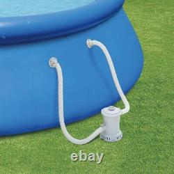 Summer Waves 15 ft x 36in Inflatable Above Ground Swimming Pool & Pump Fast Ship