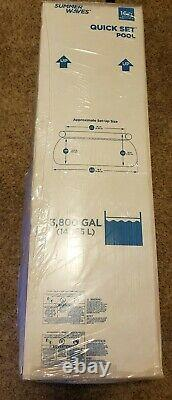 Summer Waves 16ft x 42in Quick Set PoolFilter Pump & LadderFast Shipping